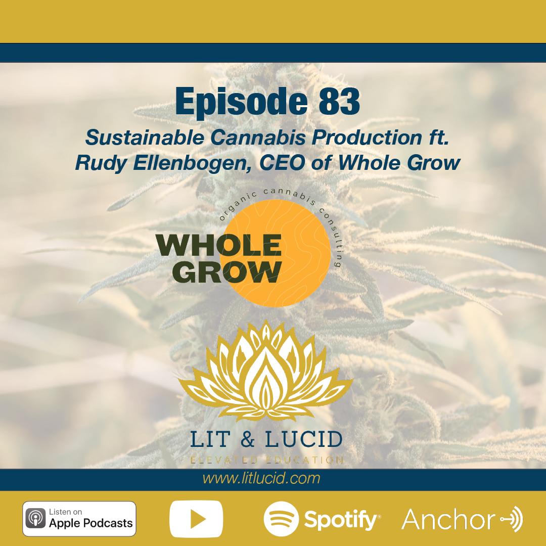 Sustainable Cannabis Production Rudy Ellenbogen